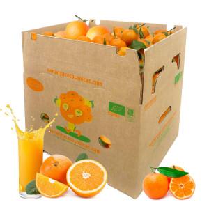 Caja 15 Kg Naranjas Zumo y Mandarinas