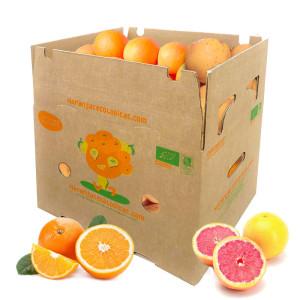 Caja 15 Kg Naranjas Mesa y Pomelos