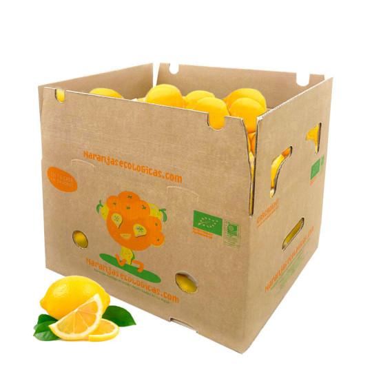 Caja de 10 Kg de Limones